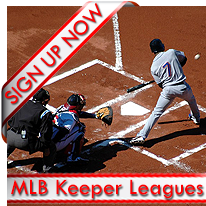 MLB Keeper Leagues Signup Now