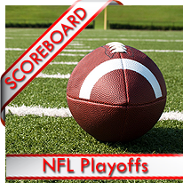 NFL Playoffs Scoreboard