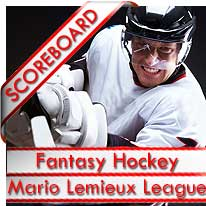 NHL Keeper League Lemieux Scoreboard
