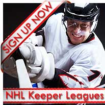 NHL Keeper Leagues Signup Now